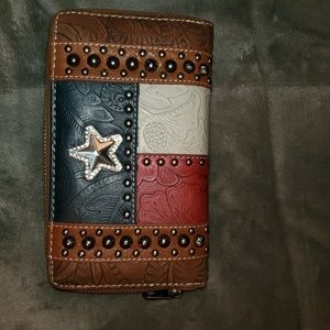 Montana West Genuine Leather Wallet